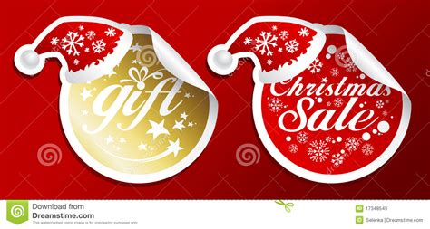 christmas sale stickers royalty free stock images image