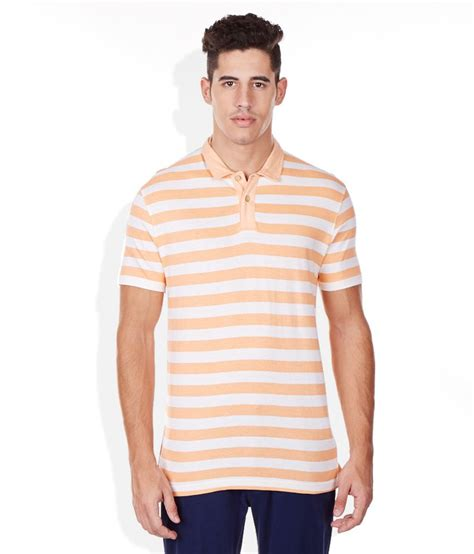 Polo T Shirt 1 bossini orange polo t shirt buy bossini orange polo t