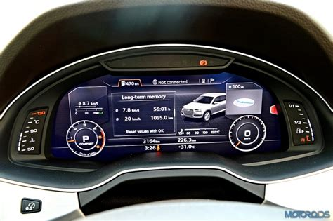 audi q7 speedometer new 2015 audi q7 review evolved mastery motoroids