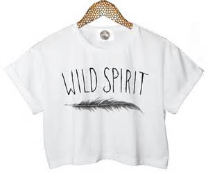 Vintage Girls Bedding by Wild Spirit T Shirt Crop Top Feather Tank Free Indie Retro