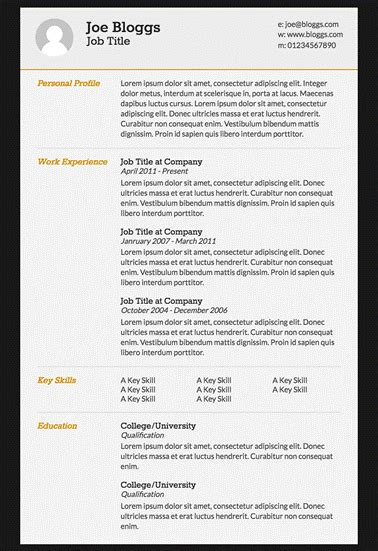 html resume template github creating a html cv and hosting in github for free