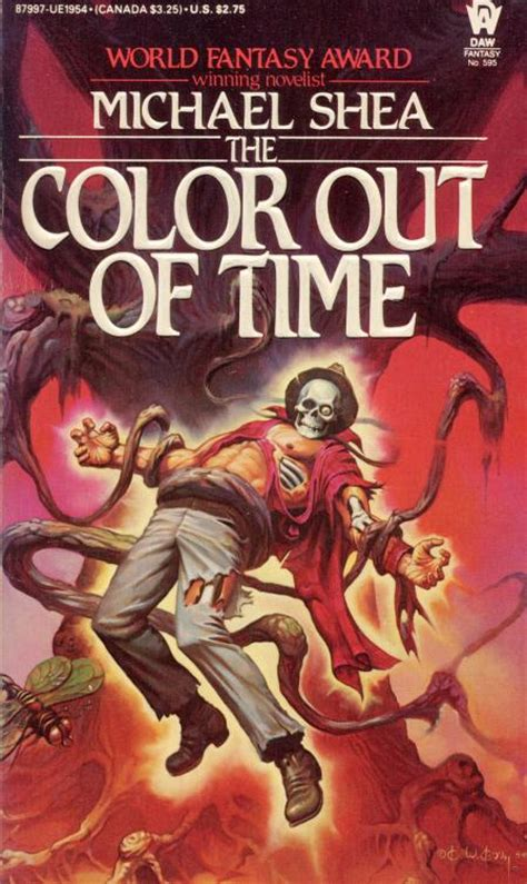 world of color times the color out of time michael shea author and world