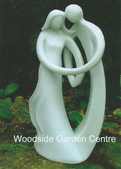 enigma small contemporary  home  garden statue