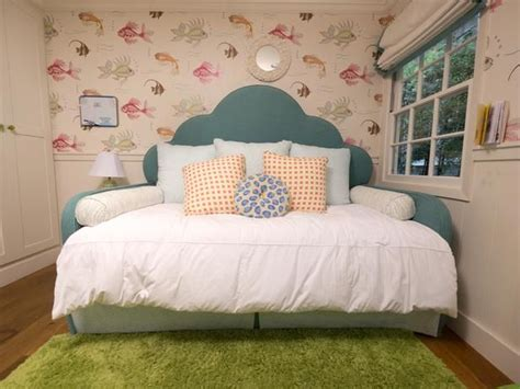 girls day beds a tween girl s underwater themed bedroom diy daybed