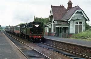 The Barn Westport Steam Train Passing Trooperslane Station 169 The Carlisle