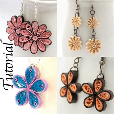 quilling paper art tutorial pdf tutorial for paper quilled jewelry pdf honeysquilling
