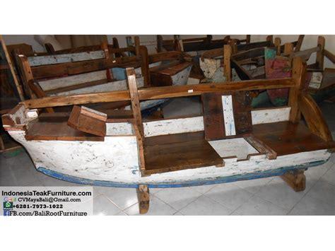 boat wood furniture bali bwf22317 5 bali crafts