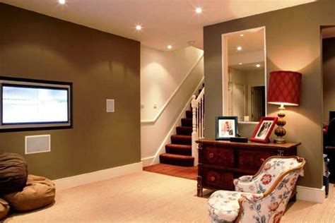 basement home best paint color for basement family room