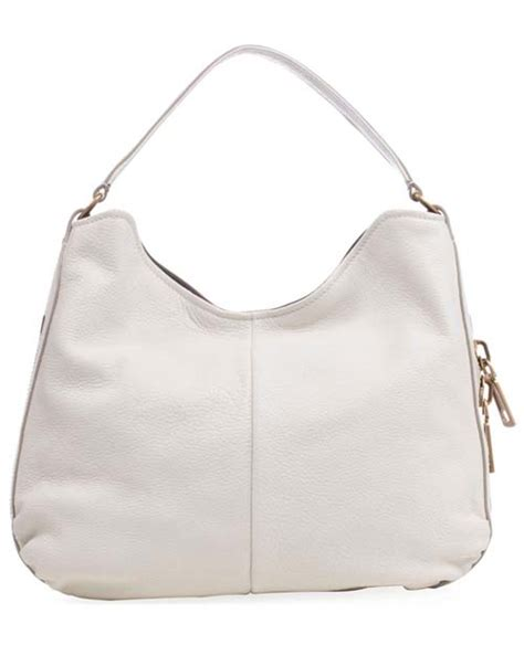 white leather purse yves laurent sac zip white leather hobo all handbag fashion