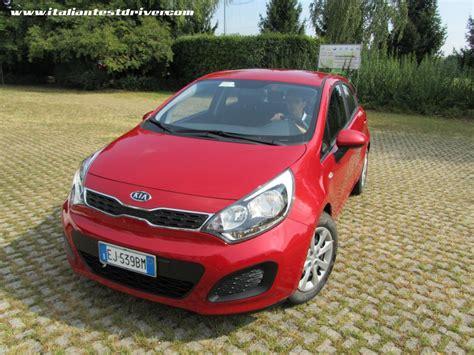 nuova kia rio test drive italiantestdriver