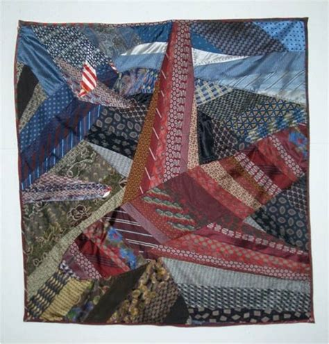 Silk Tie Quilts Patterns by Quilt Inspiration Memories In Silk The Tie Quilts Of