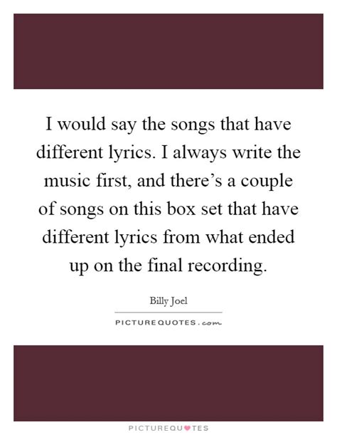 billy joel quotes sayings  quotations