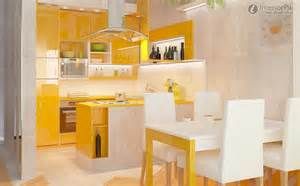 superb Kitchen Renovation Pictures #1: orange-romantic-contemporary-small-apartment-kitchen-cabinet-renovation-renderings.jpg