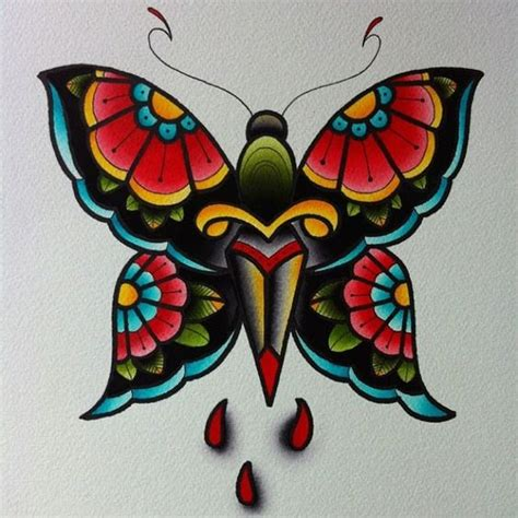 tattoo flash butterfly 30 traditional butterfly tattoos