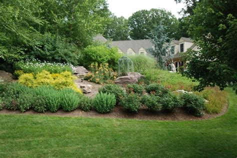 how to landscape a hill landscaping a hill how does your garden grow pinterest