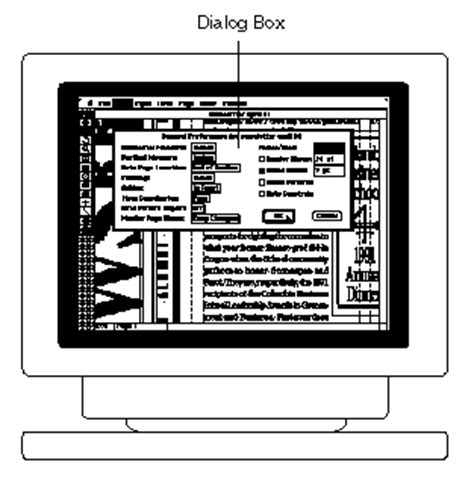what is dialog box webopedia definition