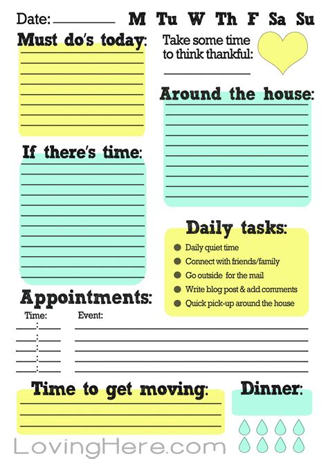 printable to do list work how i stay organized a work from home free printable
