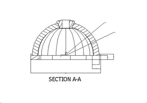 dome section new projecton on the drawing board iv centerstone