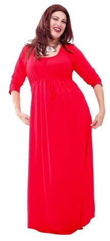 Baby Doll 3 In 1 Maxi Collection empire baby doll stretch jersey 3 4 sleeve maxi dress