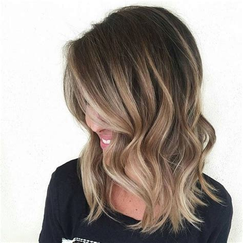 medium length hair with ombre highlights ombre medium length hair 60 balayage hair color ideas with