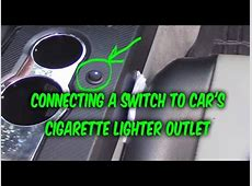 How to install & wire 3 prong Switch to car 12v power ... 24 Volt Outlet
