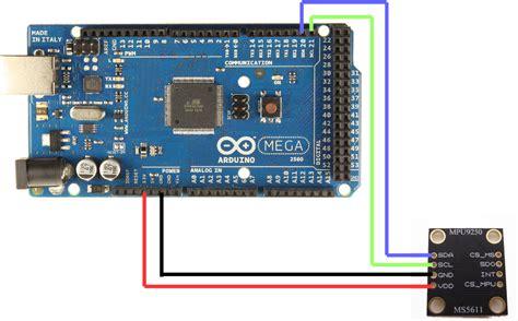 code arduino mpu6050 mpu 9250 and arduino 9 axis imu robotics teaching