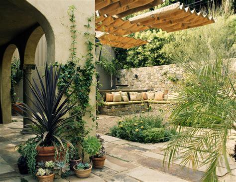 Mediterranean Patio Design Mediterranean Classic Mediterranean Patio Los Angeles By Chambers Interiors Inc