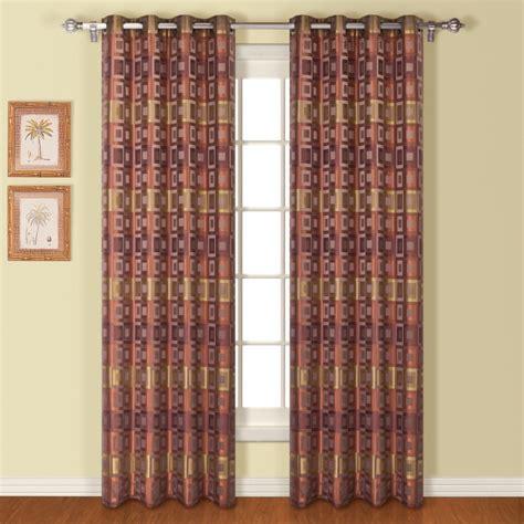 union square curtains union square modern square grommets top curtain panel