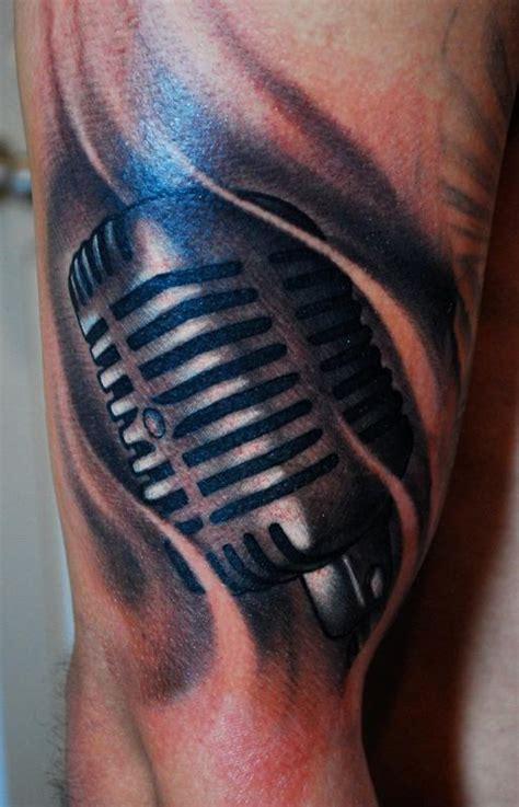 microphone tattoo on neck tattoo inspiration worlds best tattoos