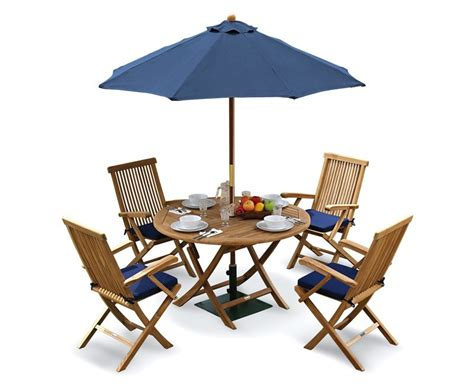 folding patio dining set ashdown folding garden table and arm chairs set