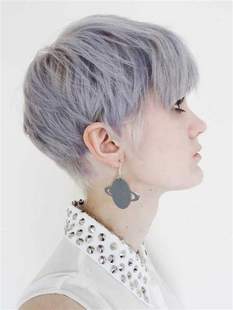 short hairstyles dyed grey color ideas for short hair 2013 short hairstyles 2017