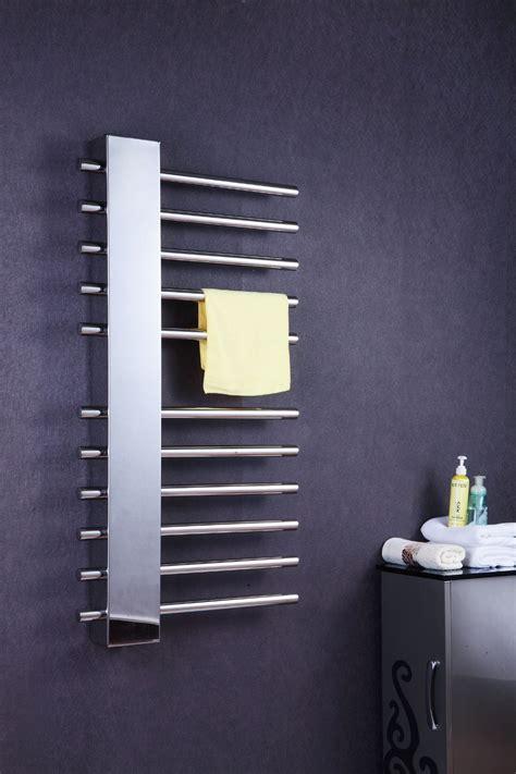 towel rack heater bathroom luxury vertical wall mount bathroom towel rack heated