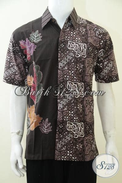 Baju Pakaian Pria Busana Kemeja Pendek Motif Batik Murah 3 busana kemeja batik pria motif terbaru baju batik lengan pendek cowok til exist dan modis