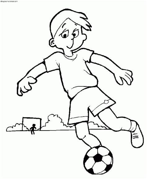 imagenes de niños jugando para imprimir dibujos de f 250 tbol para colorear