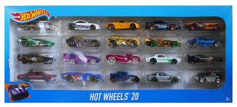 mail hot wheels gr loc us cars hot wheels set of 20 295344 perfect toys