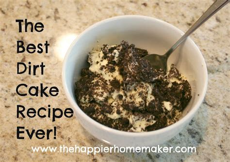 best dirt cake recipe ever the happier homemaker