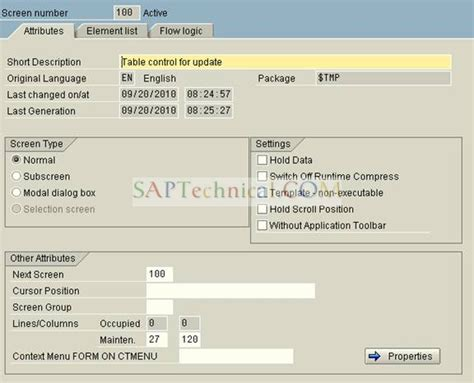 bapi tutorial in sap abap saptechnical com update any standard table field value s