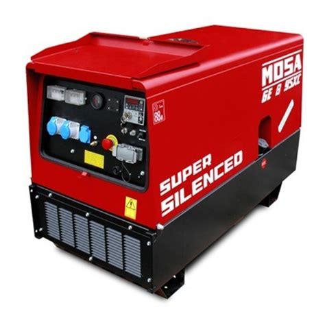 welder generator mosa ge 8 ysxc allied welding