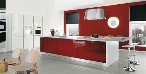 imagenes de cocinas rojas cocinas en rojo pasi 243 n cocinas con estilo consejos