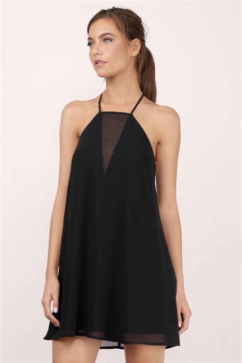 whats a swing shift what s not to love black mesh swing dress 42 00 tobi