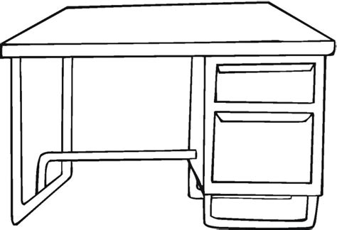 Coloring Desk For by Free Household Coloring Pages