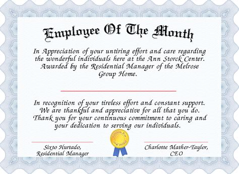 manager of the month certificate template printable manager of the month certificate template free