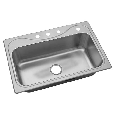 kitchen makeovers drop in stainless steel kitchen sinks corner sterling southhaven drop in stainless steel 33 in 4 hole