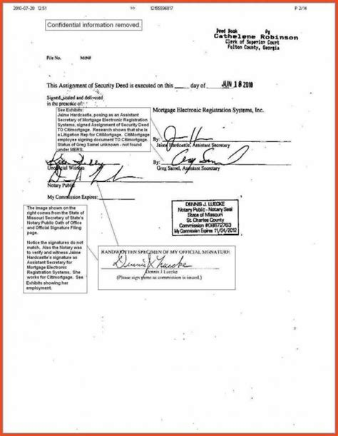 Notary Documents