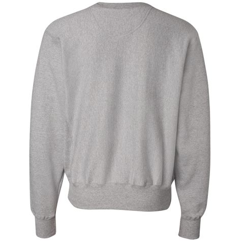 Oxford Grey chion s149 weave crewneck sweatshirt oxford