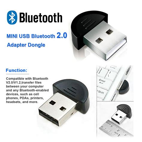 Bluetooth Usb Komputer micro bluetooth usb v2 0 wireless dongle adapter edr for