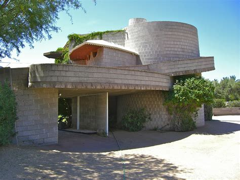 this classic frank lloyd wright house has been spared from