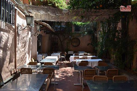 ristorante con giardino roma ristorante trastevere con giardino cucina romana da 3