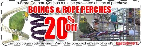 bird paradise savings coupon page