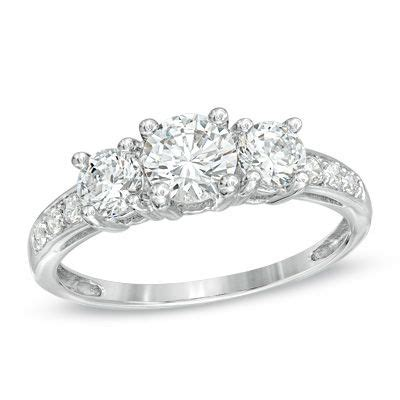 three rings rings and white sapphire on